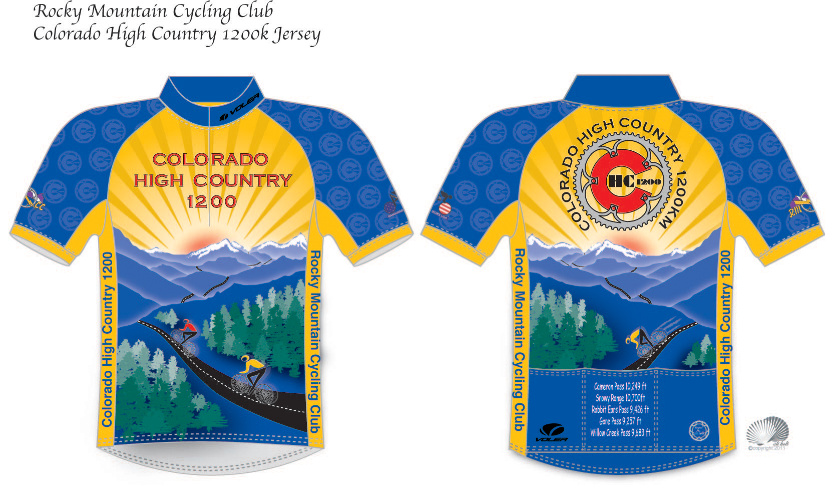 High Country 1200 Jersey
