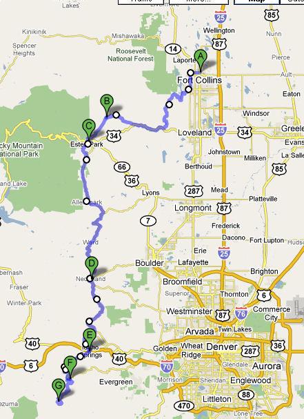 Organizer William Derosset Rusa Listing Map Route