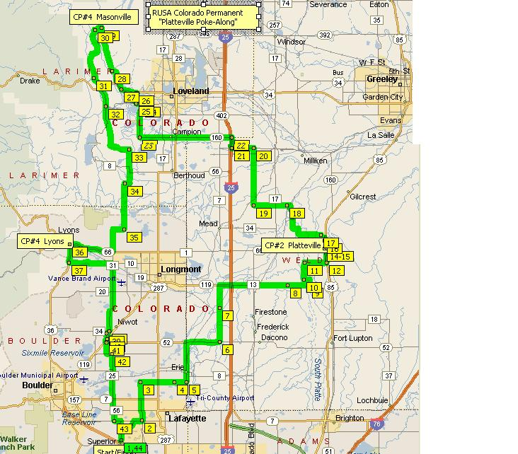 Ride With Gps Map Start Lsvl Dillon At Mccaslin Blvd Louisville